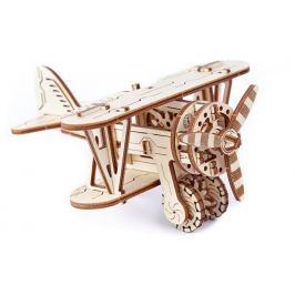 Wooden City 3D mechanické puzzle - Dvouplošník