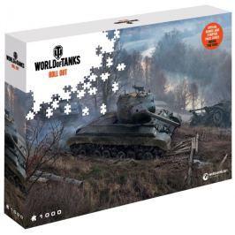 Puzzle World of Tanks: Číhající tanky 1000 dílků