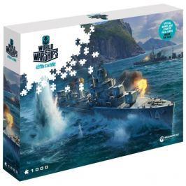 Puzzle World of Warships: Lodě Pan-Asian Destroyer 1000 dílků