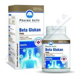 Pharma Activ Beta Glukan Forte vitamín C a zinek cps.60