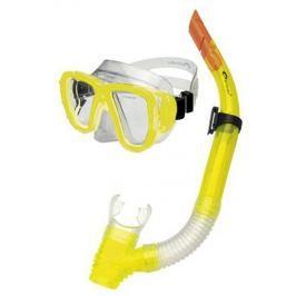 CORAL JUNIOR  Sada brýle + šnorchl, žlutá