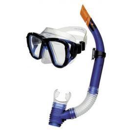 CORAL JUNIOR  Sada brýle + šnorchl, modrá