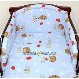 Mamo Tato Krásný volánek pod matraci - Ježek modrý, 120x60