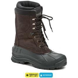 Kamik Nationplus hnědé páske zimni boty, 46