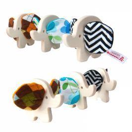 Hencz Toys Dřevěná hračka - SLONÍK - 1 ks