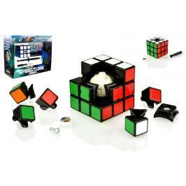 Teddies Rubikova kostka sada Speed cube hlavolam plast v krabici  24x19x8cm