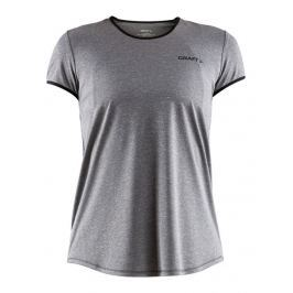 Craft Dámské běžecké triko  Eaze SS W::S; Šedá
