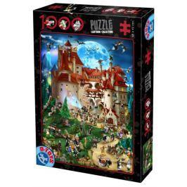 D-TOYS Puzzle  61218 Drákulův hrad 1000 dílků