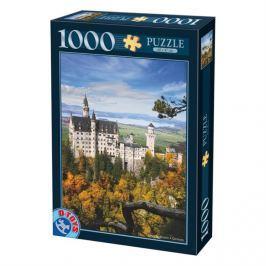 D-TOYS Puzzle  62154 Neuschwanstein, Německo 1000 dílků