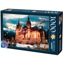 D-TOYS Puzzle  63038 Zámek Peles, Rumunsko 1000 dílků