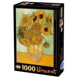D-TOYS Puzzle  66916 V. van Gogh: Slunečnice 1000 dílků