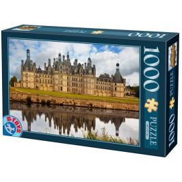 D-TOYS Puzzle Zámek Chambord, Francie 1000 dílků