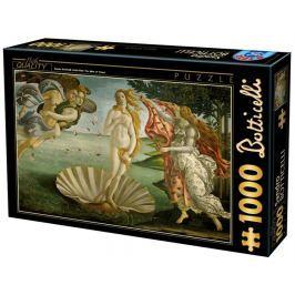 D-TOYS Puzzle  72672 S. Botticelli: Zrození Venuše 1000 dílků