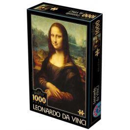D-TOYS Puzzle  72689 Leonardo da Vinci: Mona Lisa 1000 dílků