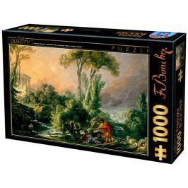D-TOYS Puzzle  72696 F. Boucher: Imaginární krajina 1000 dílků