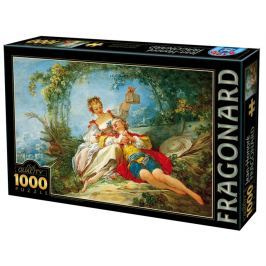 D-TOYS Puzzle Šťastní milenci 1000 dílků