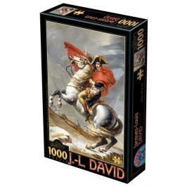 D-TOYS Puzzle  72719 J. L. David: Napoleon při přechodu přes Alpy 1000 dílků
