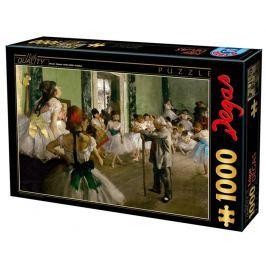 D-TOYS Puzzle  72801 E. Degas: Taneční škola 1000 dílků