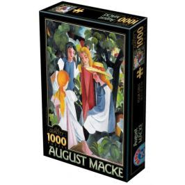 D-TOYS Puzzle  72863 A. Macke: Čtyři dívky 1000 dílků