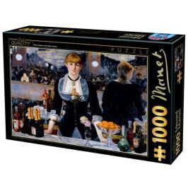 D-TOYS Puzzle  73068 E. Manet: Bar ve Folies-Berg?re 1000 dílků