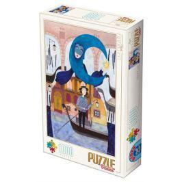 D-TOYS Puzzle Benátky 1000 dílků