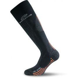 Lasting Lyžařské ponožky  Swh, 42 - 45, Černá/hnědá