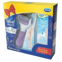 Scholl Elektrický pilník na chodidla  Velvet Smooth + noční maska 60 ml zdarma