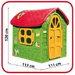 Teddies Domeček plastový 111x120x113cm