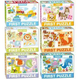 Puzzle Moje první puzzle 3,4 a 5 dílků