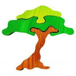 FAUNA Dřevěné puzzle z masivu  Akácie malá