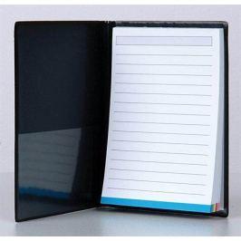 VICTORIA Poznámkový blok s obalem, A6, , černý
