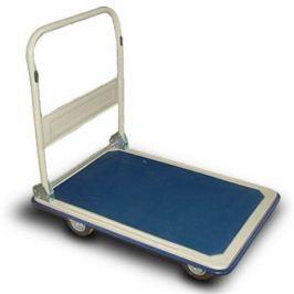 NO NAME Ruční přepravní vozík, 300 kg, modro-bílý