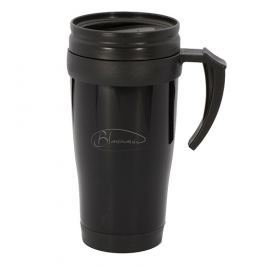 BLAUMANN Termohrnek nerez / plast 400 ml černý