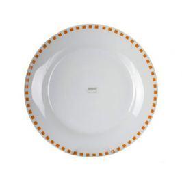 BANQUET Talíř porcelánový mělký CUBITO Orange 24 cm