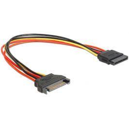 DeLock prodlužovací napájecí kabel SATA 15 Pin (M) > SATA 15 Pin (F) 30 cm