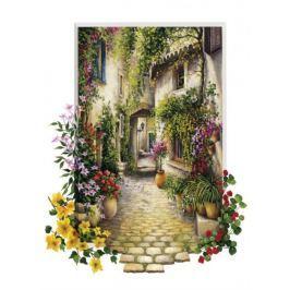 ART PUZZLE Puzzle Květinová ulička 500 dílků