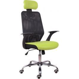 Tempo Kondela Kancelářská židle, černá/zelená, REYES
