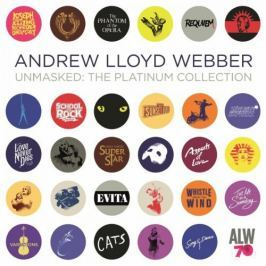 CD Andrew Lloyd Webber : Unmasked-the Platinum Collection