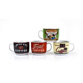 BANQUET Hrnek keramický polévkový RETRO COFFEE 730 ml, assort