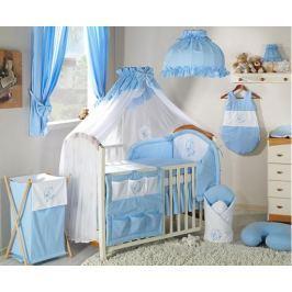 Mamo Tato Luxusní mega set s moskytierou - Měsíček modrý, 135x100