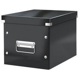 LEITZ Krabice Click & Store, černá, středně velká, čtvercová,