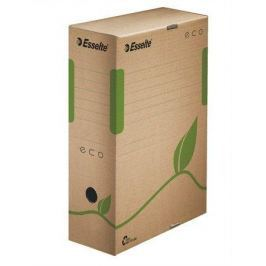 ESSELTE Archivační krabice Eco, přírodní hnědá, 100 mm, A4, recyklovaný karton, ESSELT