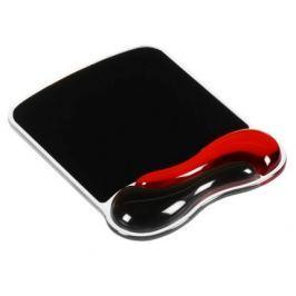 KENSINGTON podložka pod myš Duo Gel Mouse Pad - červeno-černá
