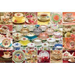 COBBLE HILL Puzzle  50706 Sbírka čajových šálků 2000 dílků