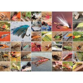 COBBLE HILL Puzzle  51686 Rybářské mušky 1000 dílků