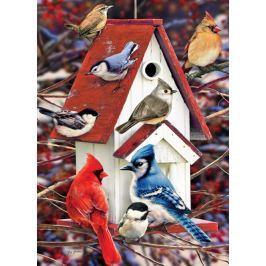 COBBLE HILL Puzzle  51827 Ptačí budka v zimě  1000 dílků