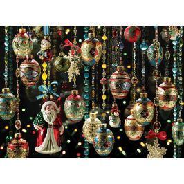 COBBLE HILL Puzzle  51851 Vánoční ozdoby 1000 dílků