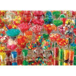 COBBLE HILL Puzzle  51856 Cukrovinky 1000 dílků