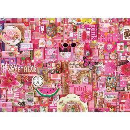 COBBLE HILL Puzzle  51860 Barvy duhy: Růžová 1000 dílků