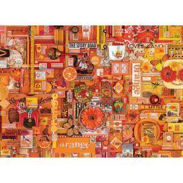 COBBLE HILL Puzzle  51862 Barvy duhy: Oranžová 1000 dílků